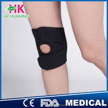 HK Elastic leg support sports knee brace pads made in CN