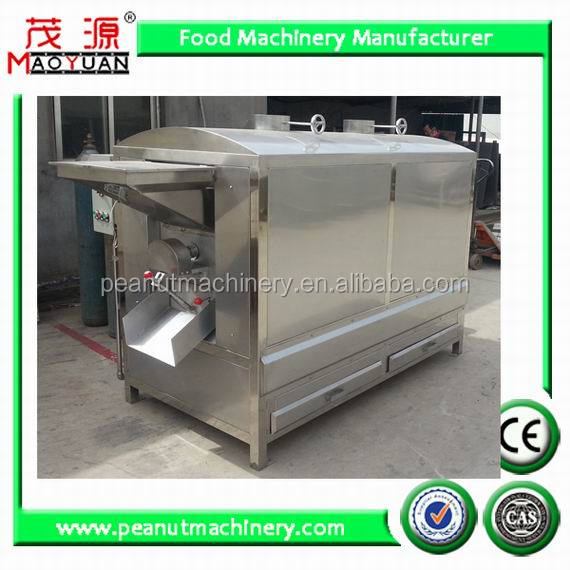 machine for roasting nuts--peanuts, cashew nut, almond
