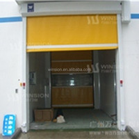 High speed roller door fabric rapid rolling/roll door China supplier