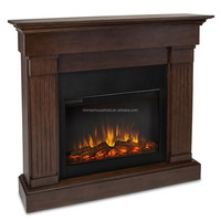 Good quality european style hand carving fireplace mantel wood mantelpiece