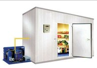 Small monoblock cold room for meat, vegetable, fruit and so on