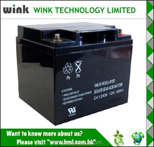 Hot Selling 12v 40ah UPS Battery Replacement Manufacturer