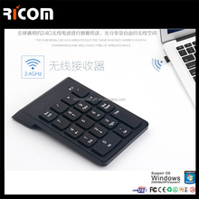 19keys keyboard with numeric keypad and touch pad,numeric keypad lcd,wireless numeric keypad-G1-Shenzhen Ricom