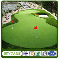 15mm height PE materials Golf Putting Green with high durablity and best price