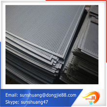 stability performance Easy installation oval 316 perforated metal mesh