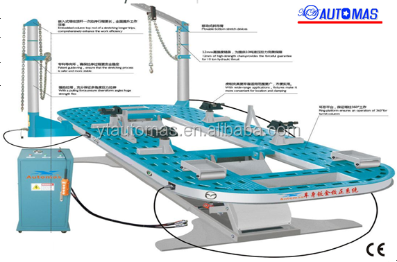 MX-8A/B Car straightening frame machine/Auto chassis alignment bench/car body
