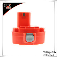 18V 3000mAh Ni-MH Rechargeable Power Tool Battery for Makita Replacement 1822 192826-5 192827 PA18