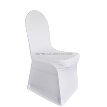 Spandex Chair Cover Wedding Party White/spandex cheap chair cover with front arch/housses de chaise