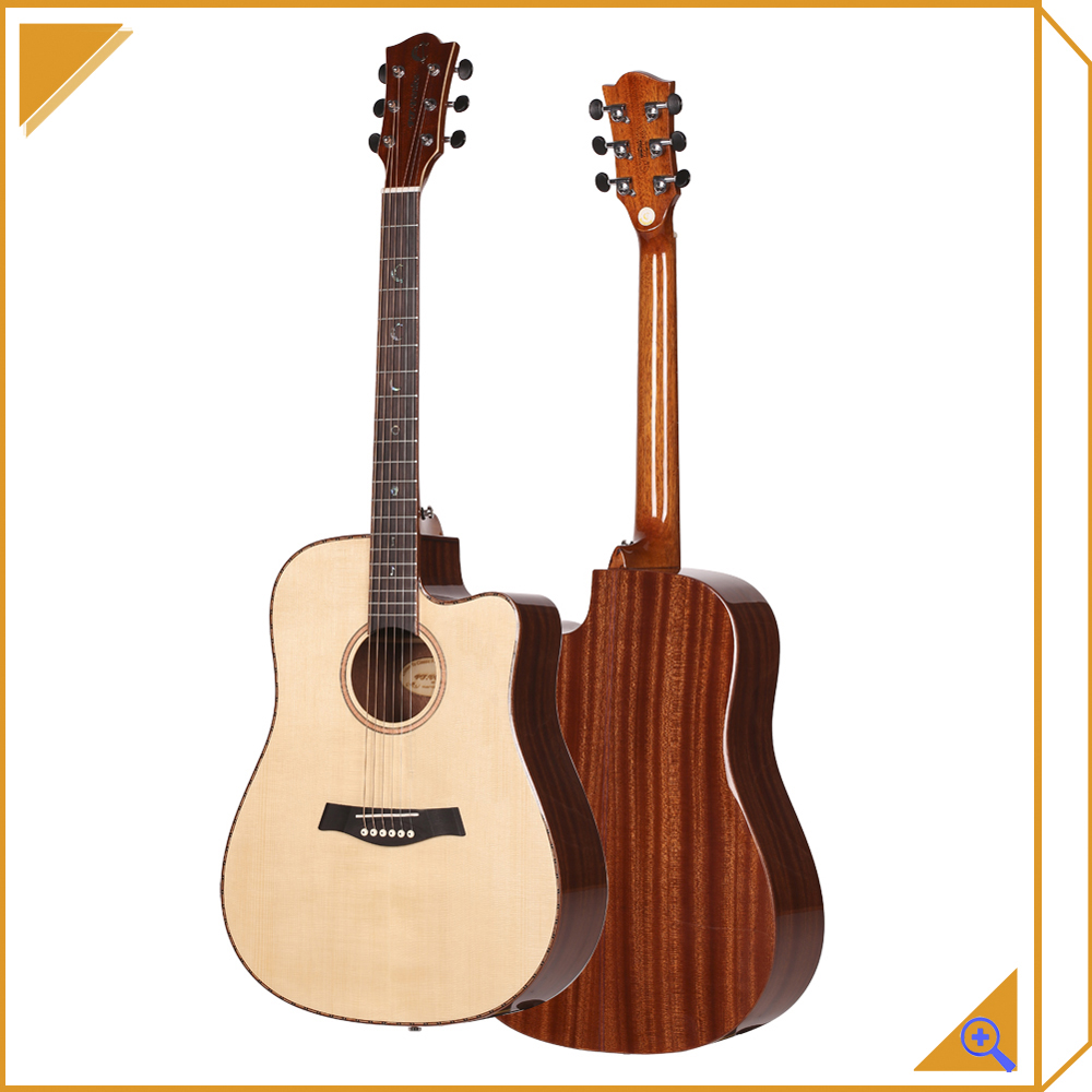 Guitar For Beginner Solid Wood Acoustic Guitar For Sales