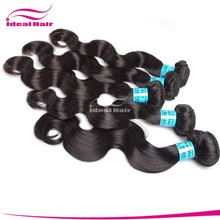 Wholesale factory price pure natural Unprocessed hair weave atlanta