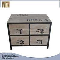 Custom made home furniture design rustic wooden japanese sideboard