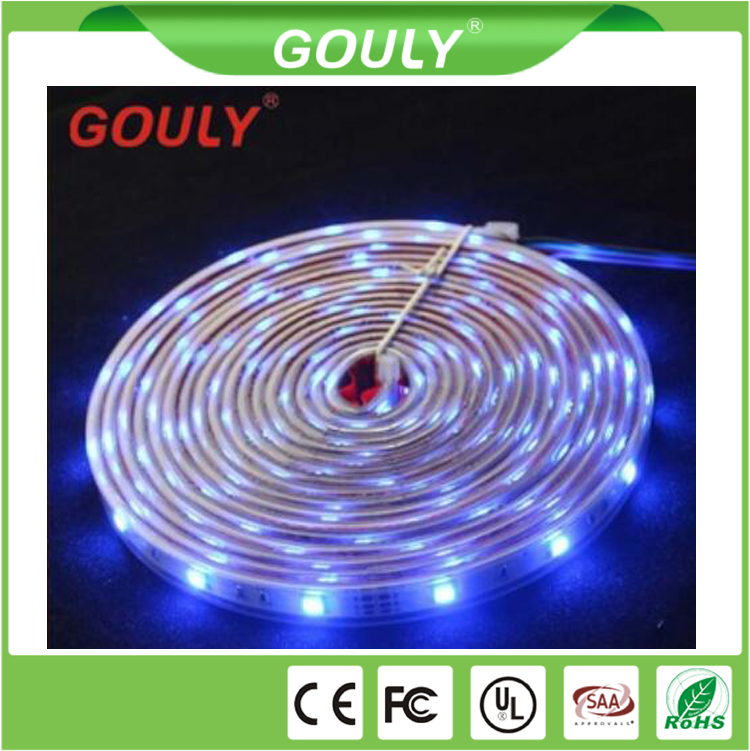 factory price 3 volt led strip 30LED/M silicon gel waterproof led strip
