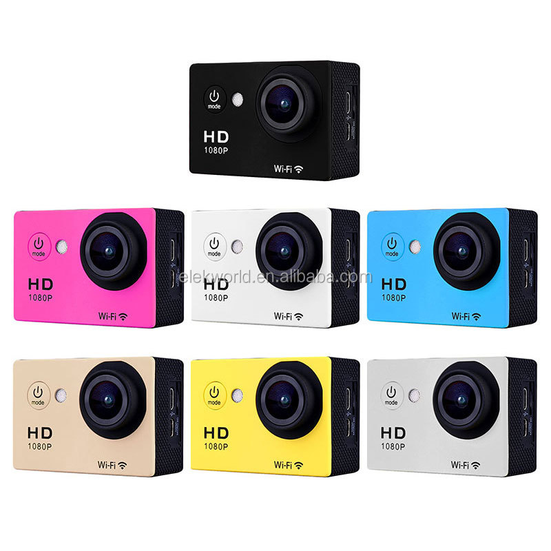 2018 New Arrivals N9 SJ7000 wifi waterproof 1080P HD Camera with Housing Case & Accessories Kit