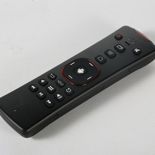 2.4G wireless air mouse remote control + qwerty keyboard + two way voice for smart Tv