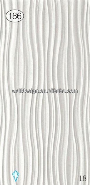 interior decoration & white color interior 3d melamine wall panels,european style