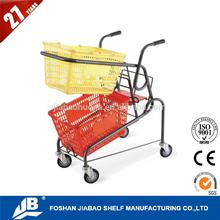 Cartoon shopping pet stroller with CE certificate
