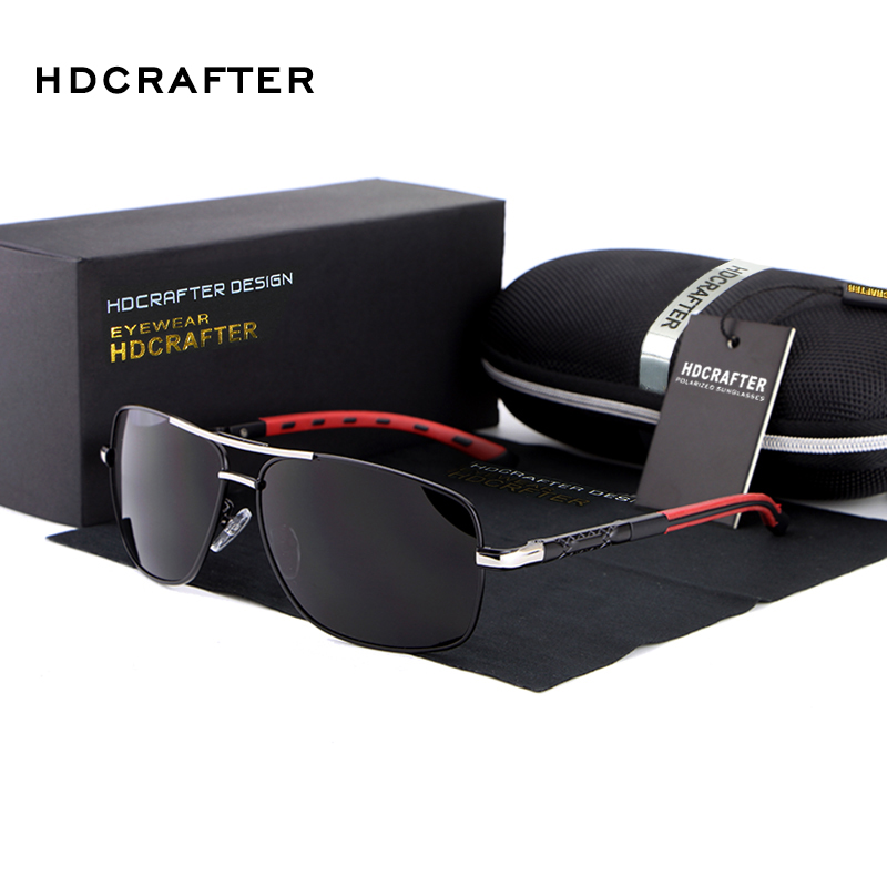 2a2bc02be1 HDCRAFTER 2018 Hot Sale Fashion Polarized Outdoor Sports Men Sunglasses