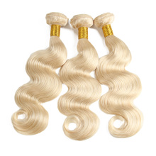 New Arrival Wholesale Unprocessed Best Selling 613 Color Weave Human Hair