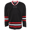 Reversible soft hockey practice jerseys