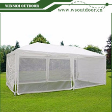 Outdoor Canopy Gazebo Party Wedding tent Screen House Sun Shade Shelter with Fully Enclosed Mesh Side Wall