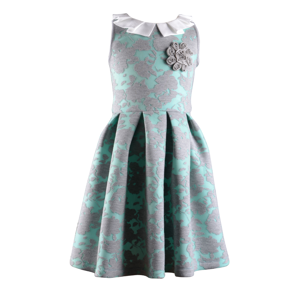 baby girl fancy dresses for party frock designs 2016 with box pleat collar