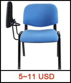Cheap Standard Size School Auditorium Chair With writing Pad Conference Lecture Hall Chair With Desk