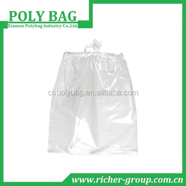 clear draw strong garbage bags with bio-degradable plastic bags