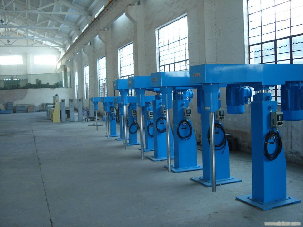 High Speed Dishwashing Liquid disperser making machine