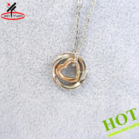Gift for her stainless steel jewelry necklace wholesale
