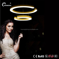 china supplier new product home lamps chrome stainless steel and acrylic LED Pendant Lighting