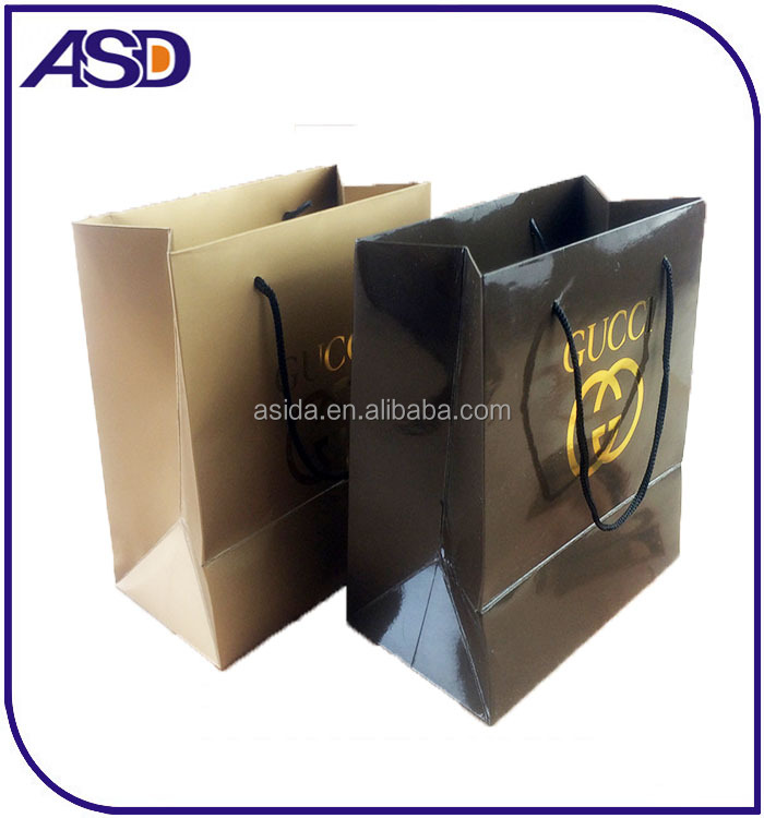 custom gift luxury recycle printed art shopping paper bags Jewelry/ gift bag