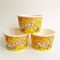 Hot new paper cups paper ice cream cups whit lid 2PE paper