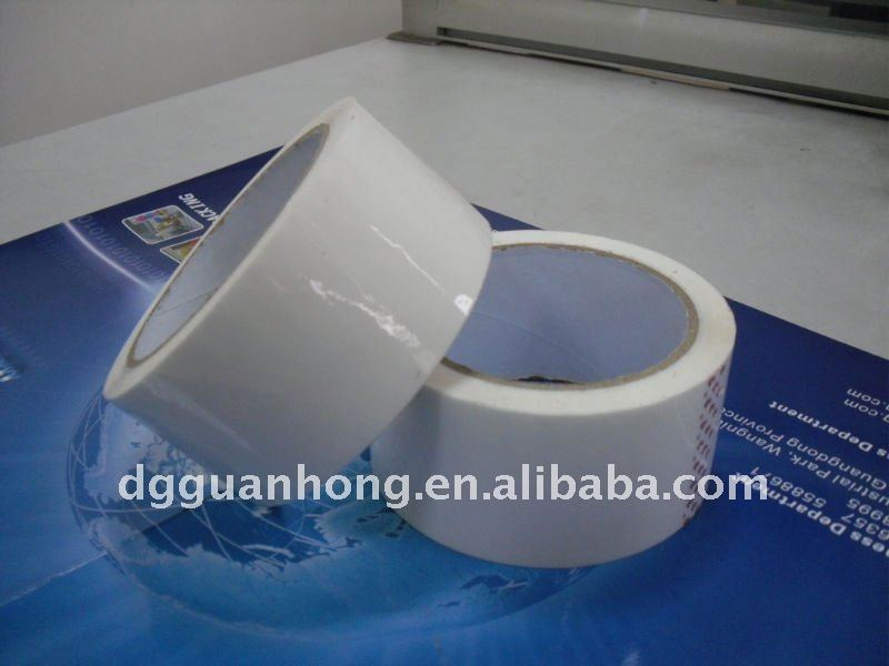 Strong adhesive! Sticky clear double sided tape