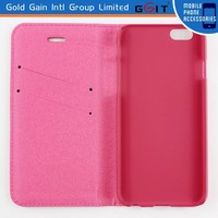High Quality Magnetic PU Leather PC Case for iPhone 6