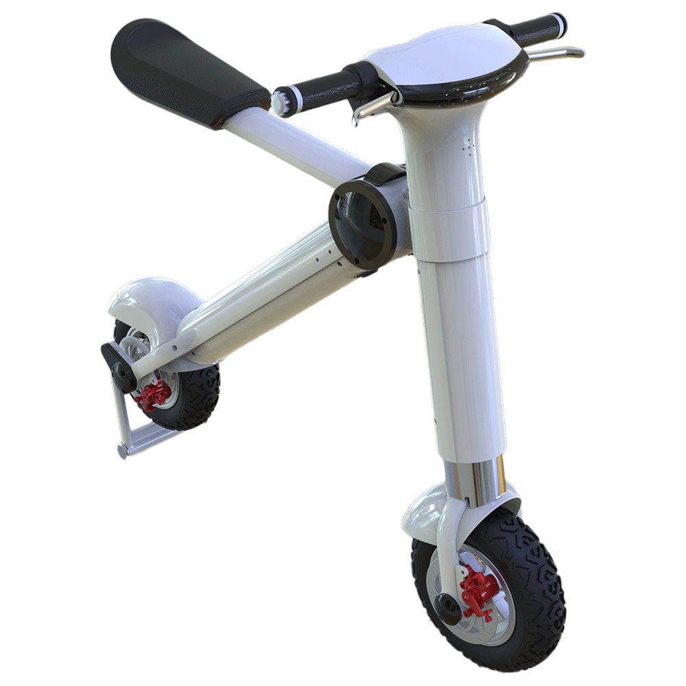 6S4 36V 2016 Portable Electric Bicycle 10 Inch Tyre Scooter Mini Motorcycle Procket Bicycle