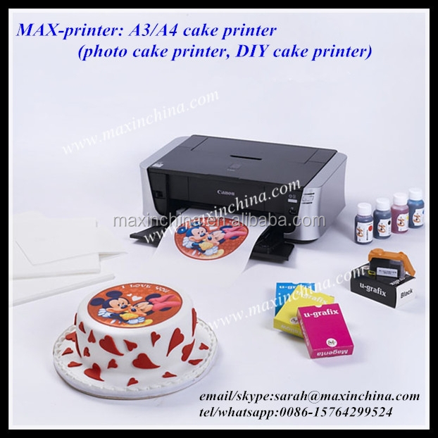 MAX-<strong>printer</strong> edible ink food cake <strong>printer</strong>