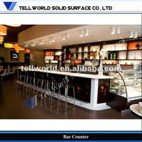 TW stylish bar counter design Modern breakfast bar Counter