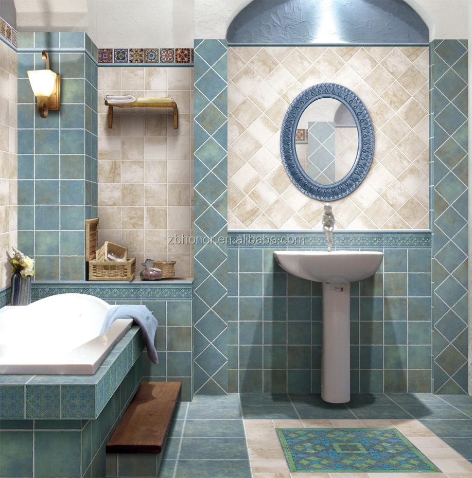 Blue Colour Ceramic Floor Tiles 300x300 From China - Buy Ceramic ...