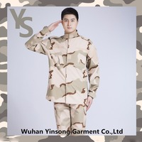 [Wuhan YinSong]3 color desert Outdoor tactical long-sleeve US Camouflage hunting uniforms