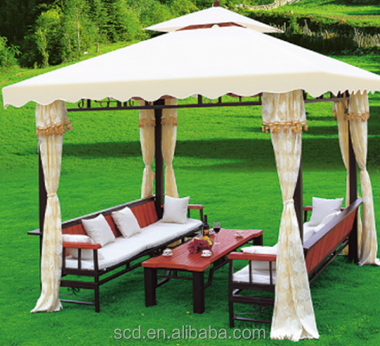 2016 Garden Patio Used 3*3m gazebo wirh Curtains In Hot Sale