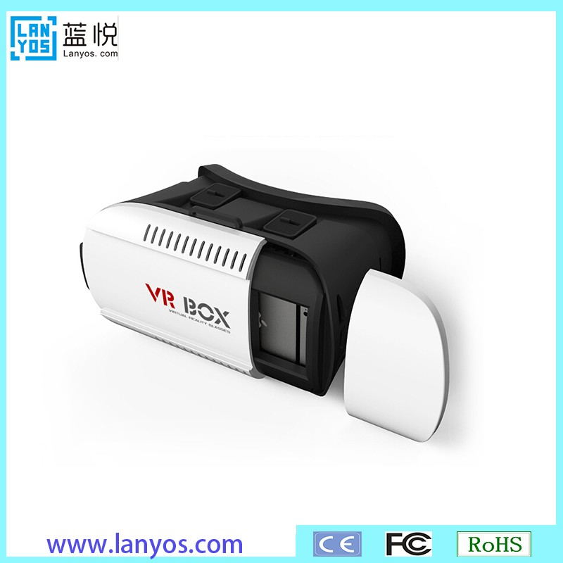 2016 Simulation virtual reality 3D headset equipment for mp4 player video watching