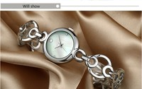 LongBo Watches factory ladies stainless steel chain wrist quartz vogue watch