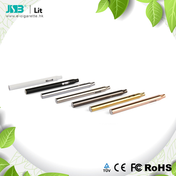 2018 Custom vaporizer pen 510 thread Lit disposable cbd vaporizer with various colors