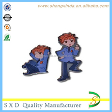 Personalize Custom Twins Anime Pin Set
