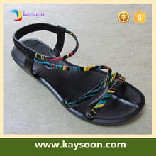 2017 new women sandals gladiator maasai sandals new flat sandals lady shoes
