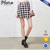 OEM Service Wholesale Girls A-line Tartan Check Skirts
