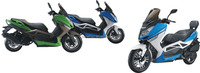 T9 scooter with l high quality 150CC ,300CC WATER COOLING gas motorcycle