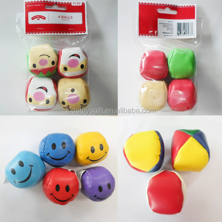 Promotional cheaper hack sack soft juggling ball