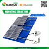 High quality aluminum ground solar pv mounting system for 5kw solar panel kit