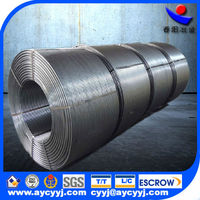 metal of CaSi Cored wire for steel making China exporter hot sale in the world